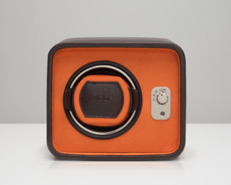 Wolf Windsor Orange Single Watch Winder