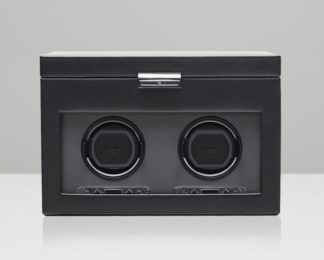 Wolf Viceroy Double Watch Winder with Storage