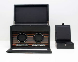 Wolf Roadster Double Watch Winder with Storage 457256