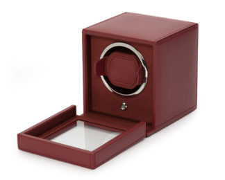 Wolf Cub Bordeaux Watch Winder With Cover 461126