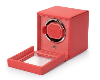 Wolf Cub Coral Watch Winder With Cover 461142