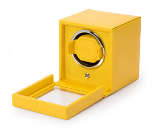 Wolf Cub Yellow Watch Winder With Cover 461192
