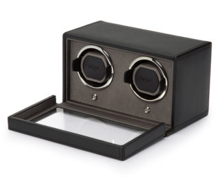 Wolf Cub Double Watch Winder With Cover 461203