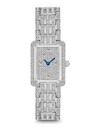 Bulova Womens Crystal Watch