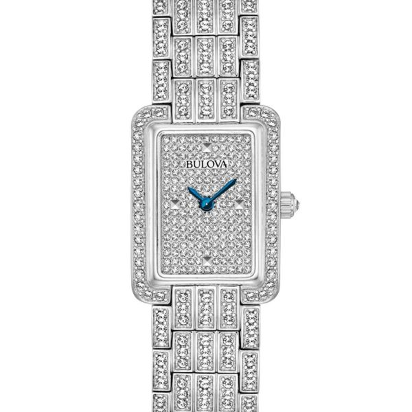 Bulova Womens Crystal Watch