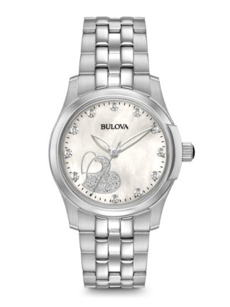 Bulova Womens Diamond Watch 96P182