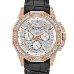 Bulova Men's Crystal Watch 98C125