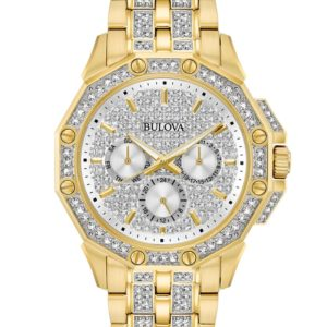 Bulova Men's Crystal Watch 98C126