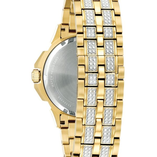 Bulova Men's Crystal Watch 98C126