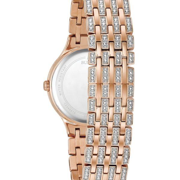 Bulova Women's Crystal Watch 98L235