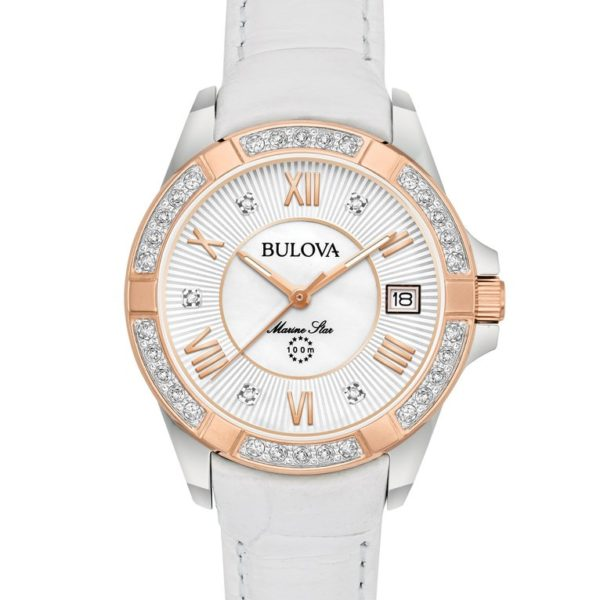 Bulova 98R233 Marine Star Diamond Watch