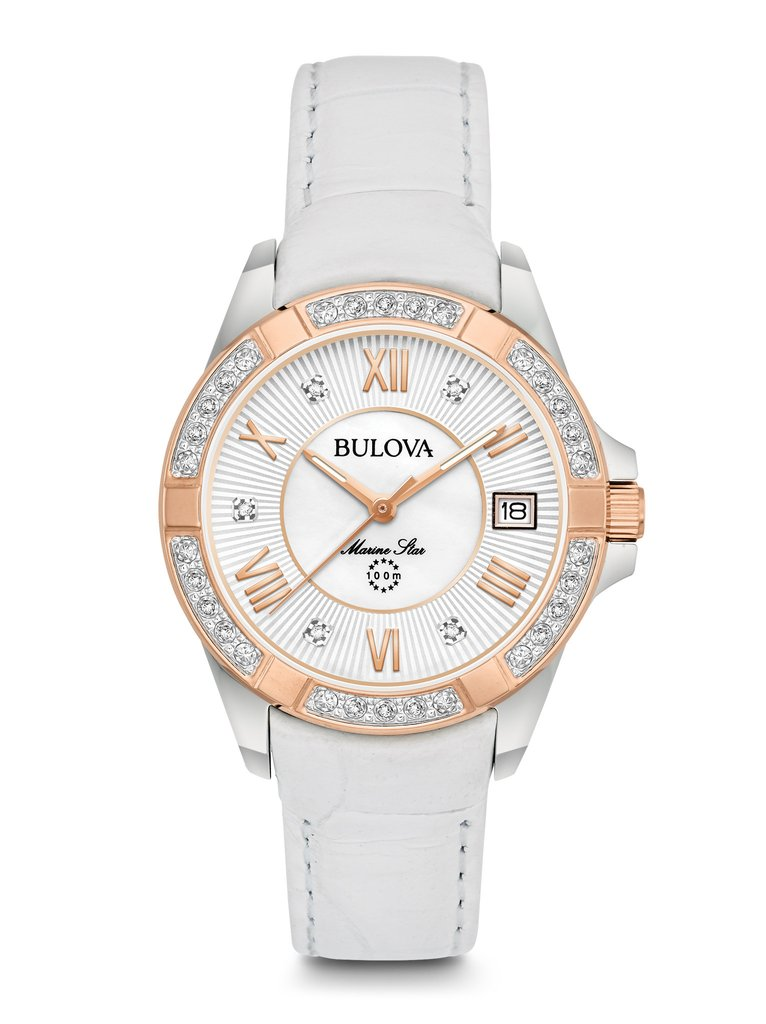 Bulova 98R233 Marine Star Diamond Watch