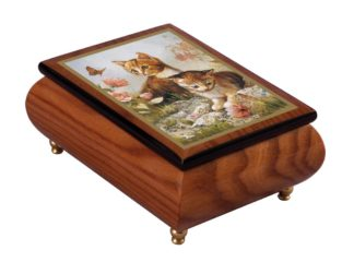 Kitten Frolic Music Box MBBG0194ELL