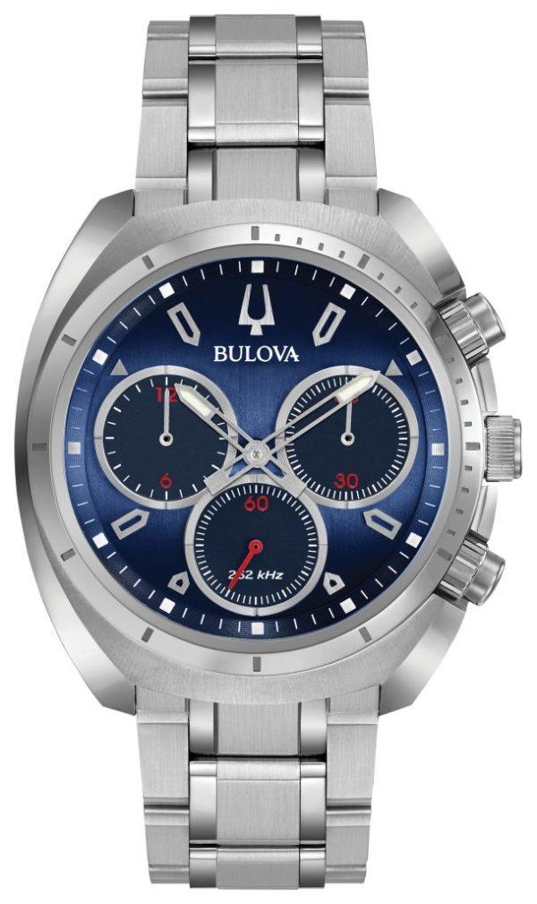 Bulova Curv Chronograph Watch 96A185