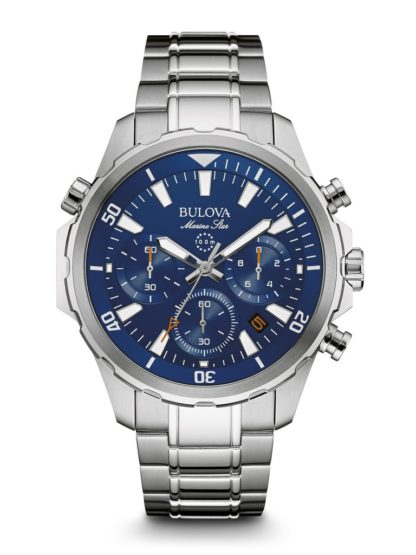 Bulova Marine Star Chronograph Watch 96B256