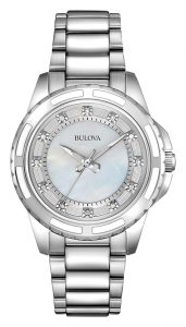 Bulova Womens Diamond Watch 96P144