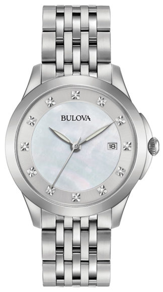 Bulova Women's Diamond Watch 96P174