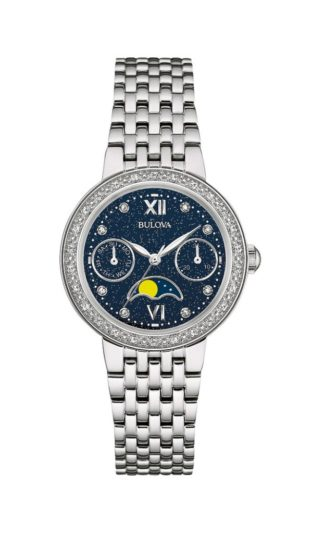 Bulova Womens Diamond Watch 96R210