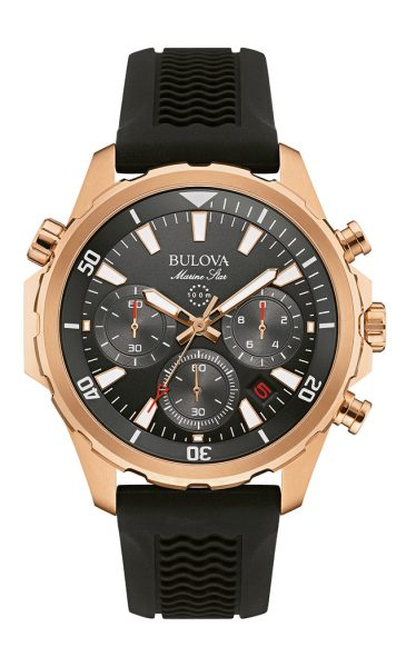Bulova Marine Star Chronograph Watch 97B153