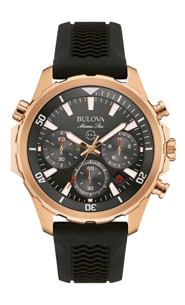 Bulova Marine Star Chronograph Watch 97B153