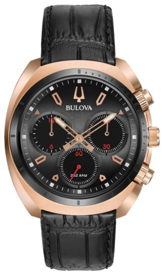 Bulova Curv Chronograph Watch 98A156