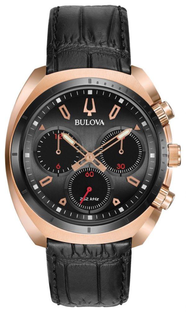 Bulova Curv Chronograph Watch 98A156