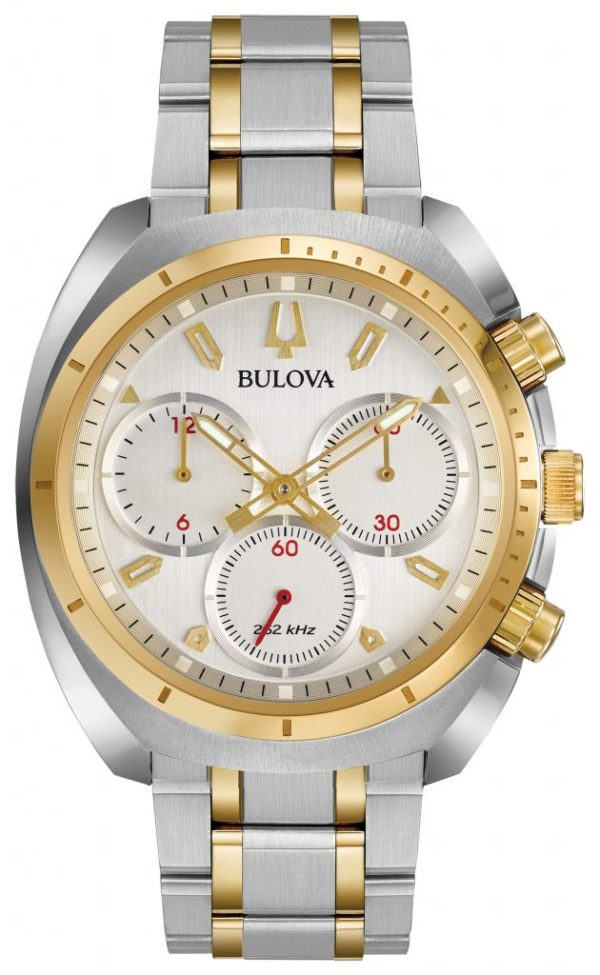 Bulova Curv Chronograph Watch 98A157