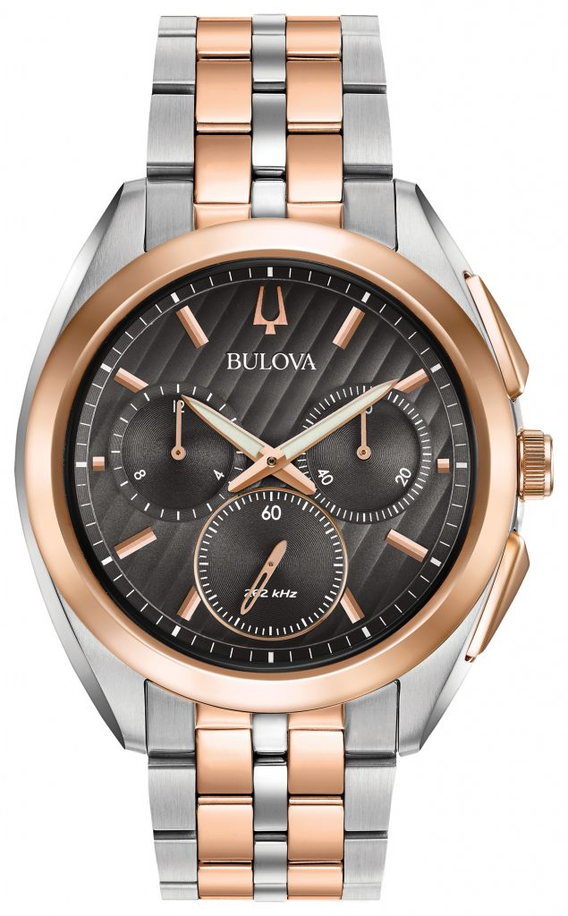 Bulova Curv Chronograph Watch 98A160