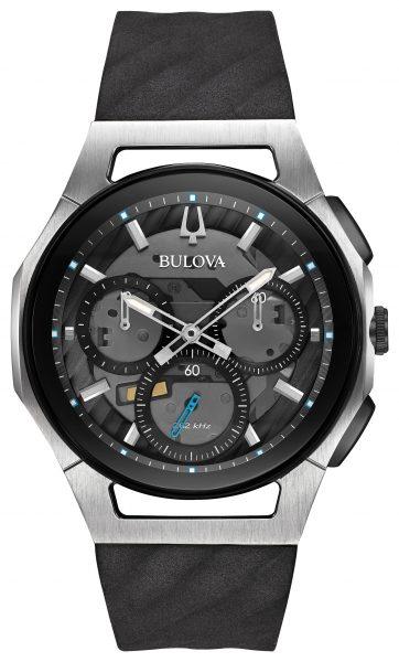 Bulova Curv Chronograph Watch 98A161