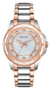 Bulova Womens Diamond Watch 98P134