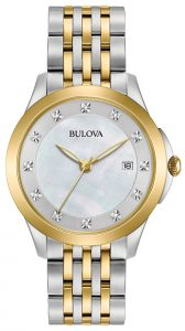 Bulova Women's Diamond Watch 98P161