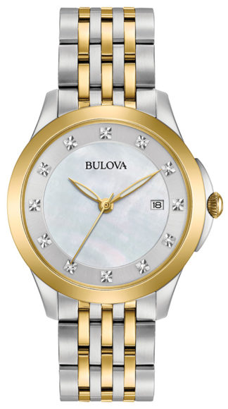 Bulova Women's Diamond Watch 98P161