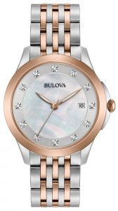 Bulova Women's Diamond Watch 98P162