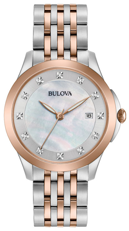 Bulova Women's Diamond Watch 98P162