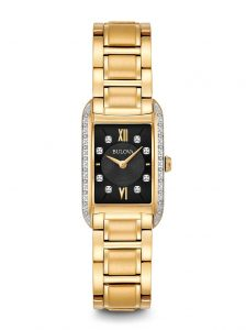 Bulova Womens Diamond Watch 98R228