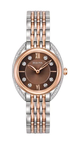 Bulova Women's Diamond Watch 98R230