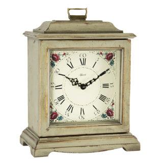 Hermle AUSTEN Gray Quartz Mantel Clock 22518-GYQ