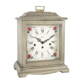Hermle AUSTEN Gray Mechanical Mantel Clock 22518-GY0340