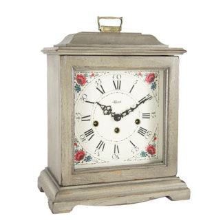 Hermle AUSTEN Gray Mechanical Mantel Clock 22518-GY0340