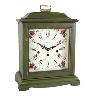 Hermle AUSTEN Dark Green Mechanical Mantel Clock 22518-DG0340