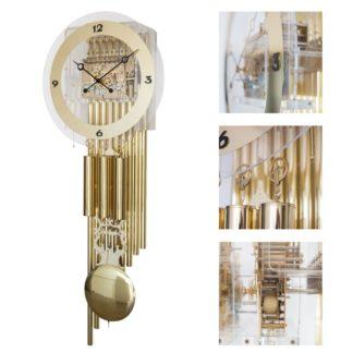 Hermle ELITE Brass Wall Clock 61020-001171