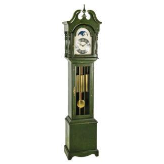 Hermle ALEXANDRIA Forest Green Floor Clock 010890-DG0451