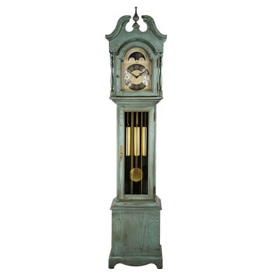Hermle ALEXANDRIA Light Blue Floor Clock 010890-LB0451