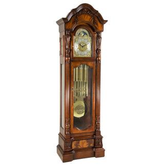 Hermle ANSTEAD Cherry Tubular Floor Clock 010953-N91171T