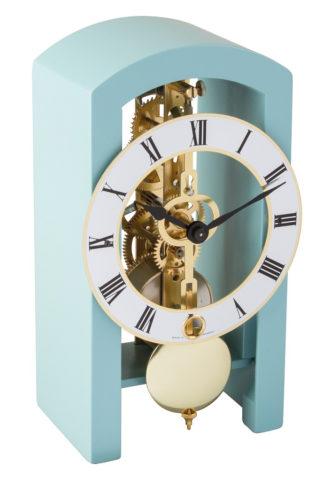 Hermle PATTERSON Blue Mantel Clock