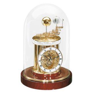 Hermle ASTROLABIUM Mahogany Brass Mantel Clock 22836-072987