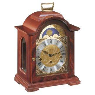 Hermle DEBDEN Mahogany Mantel Clock 22864-070340