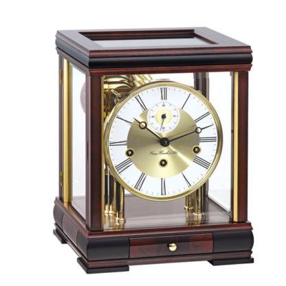 Hermle BERGAMO Mahogany Mantel Clock