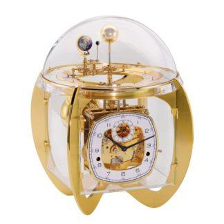 Hermle ASTRO Tellurium Brass Mantel Clock