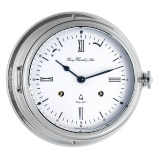 Hermle SOUTHAMPTON Nickle Ship Clock 35066-000132